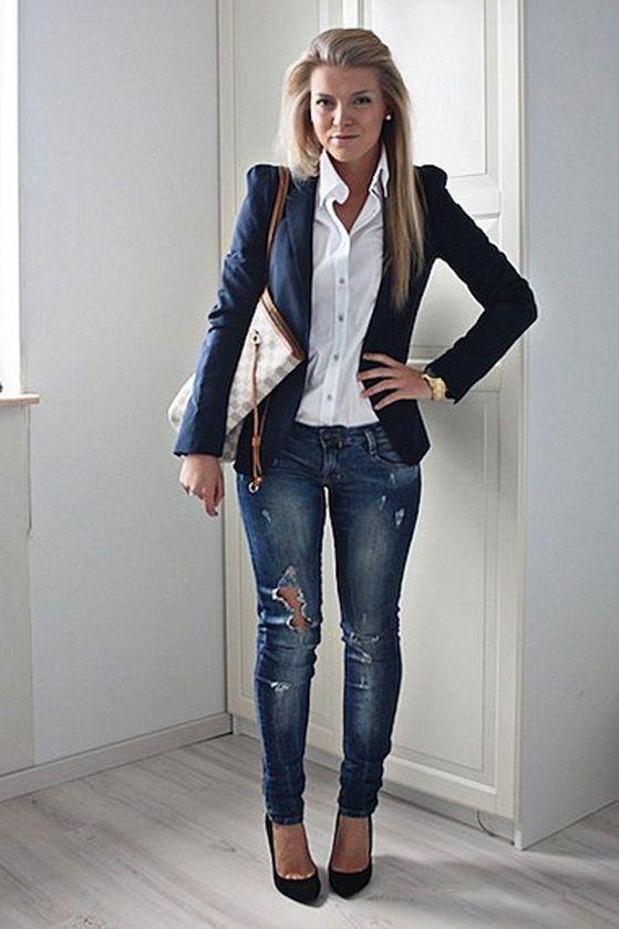 02da63e69c Pin de Milagros Garcia Zavaleta en moda casual