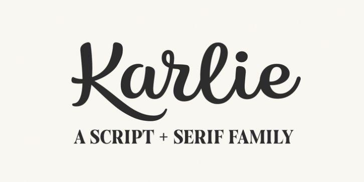 Karlie Font Download #font #typeface #typography | Fonts