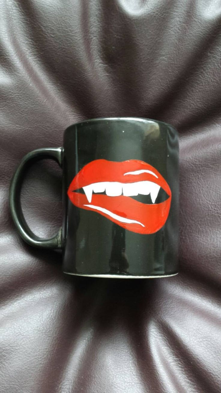 Hand Painted mug inspired by True Blood by FantasyIsland2016 on Etsy