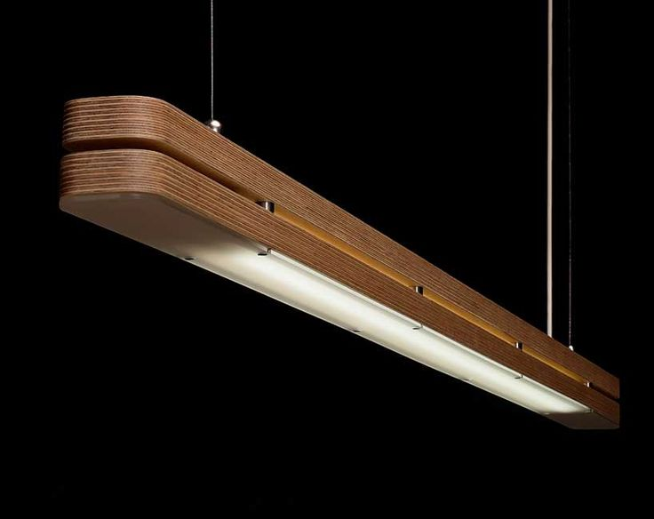 The STREAM'LITE lamp presents PLY&co.® conceptual basis of minimalism in the form of wood. Manufactured of two milled wooden slats from Birch plywood or dark Valchromat® which are hand finished and enclose a tubular T5 lamp. The frosted perspex emits a diffused and soft white which is affixed via 8 concealed magnets that facilitate easy maintenance. …