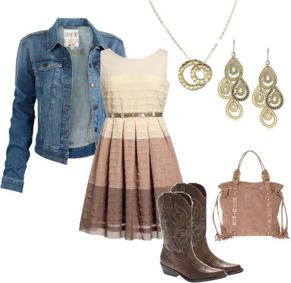 U0026quot;Country Line Dancingu0026quot; by my-pretend-closet liked on Polyvore | Polyvore | Pinterest | Dancing ...