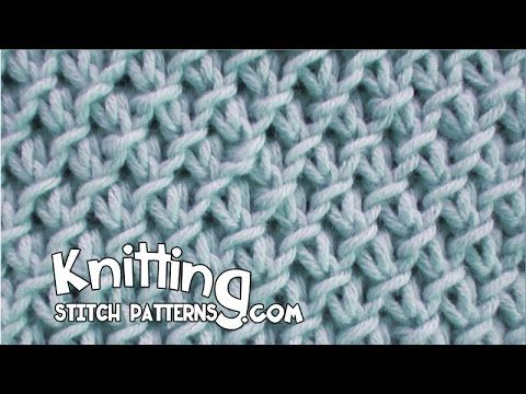 Knitting Stitch Patterns: Purl-Twist Fabric