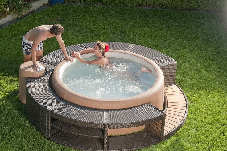 13 best images about soft hot tubs on pinterest. Black Bedroom Furniture Sets. Home Design Ideas
