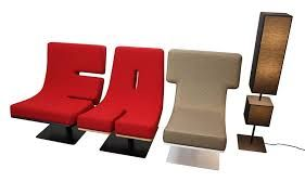 letter chairs - Google Search