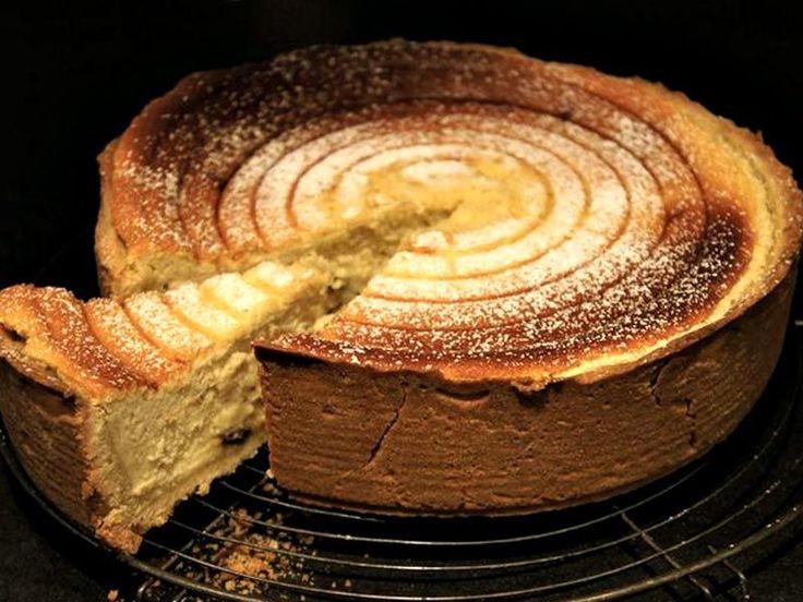 Recette de tarte au fromage blanc au Thermomix TM31 ou TM5. Faites ce dessert en mode étape par étape comme sur votre Thermomix !