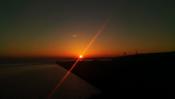 #Sunset by @Craig Fish using his HTC One X+