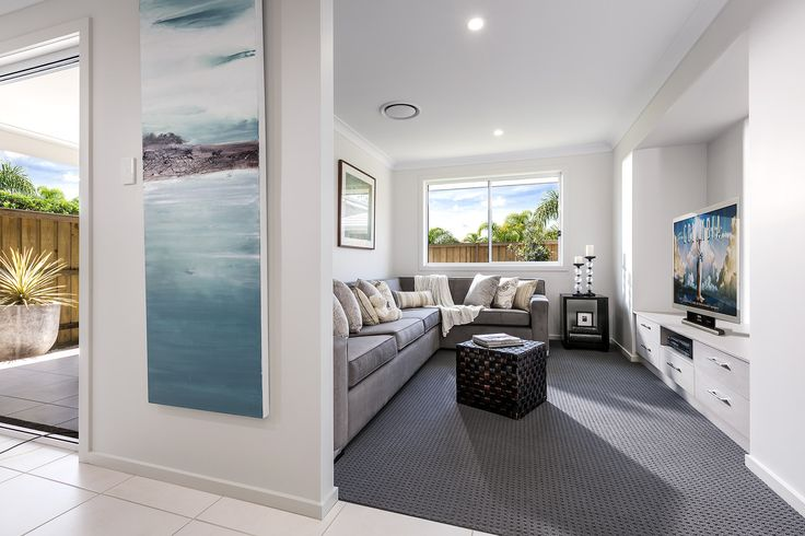 Azalea  #media #theatre #house #newhome #newlivinghomes  www.newlivinghomes.com.au