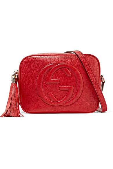 9aa342a9b889 Gucci - Soho Disco Textured-leather Shoulder Bag in 2019 | Products ...