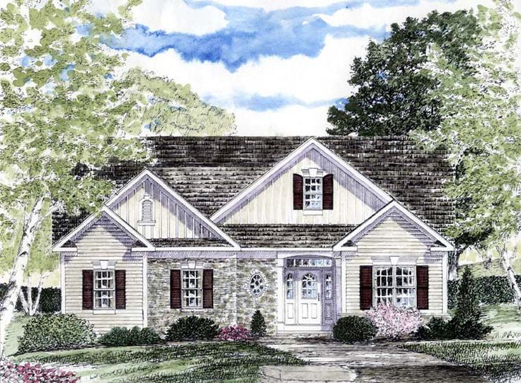 Cape cod coastal cottage country ranch house plan 94184 for Cape cod house plans with basement