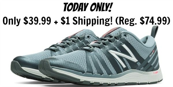Women's New Balance Cross Training Shoe Only $39.99 + $1 Shipping! (reg. $74.99)