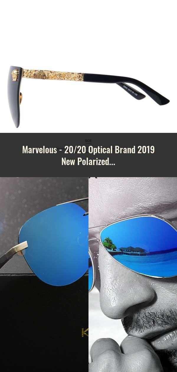 6bd44387d9 20 20 Optical Brand 2019 New Polarized Sunglasses Men Fashion Male Eyewear  Sun Glasses Travel