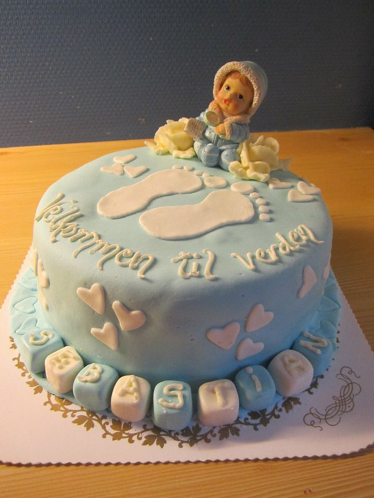 Baby Shower cake by LizzyLix.deviantart.com on @deviantART
