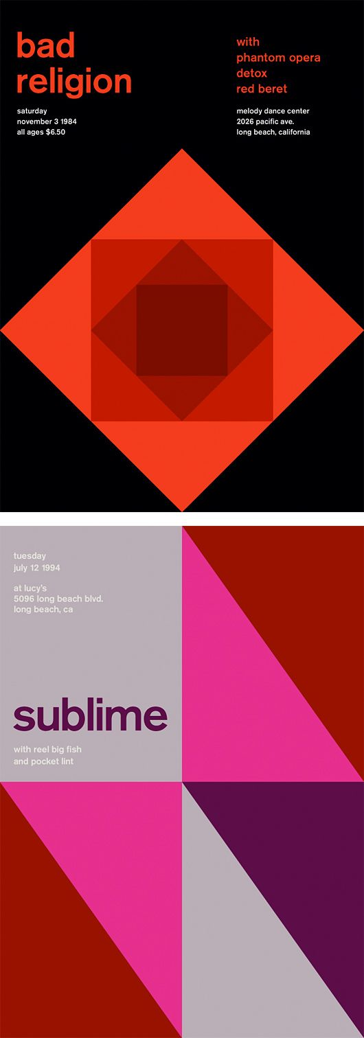 Poster design grid - Inspiration Grid Is A Daily Updated Gallery Celebrating Creative Talent From Around The World
