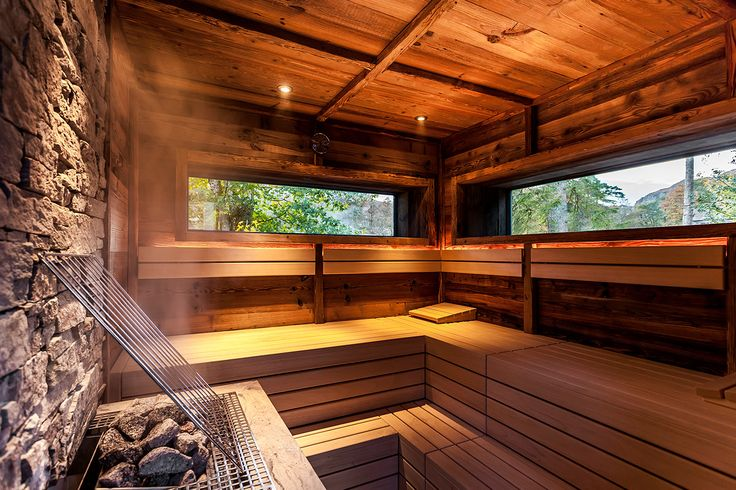 Finnish sauna in the Lake District countryside - Brimstone hotel, luxury boutique hotel and spa in the Lake District. Beautiful interior designs and services feature on the www.martynwhitedesigns.com blog