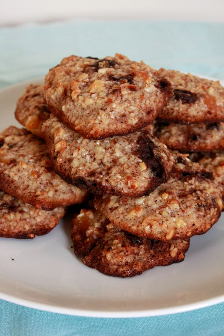 Pocak Panna paleo konyhája: Barackos-csokis paleo keksz (paleo)