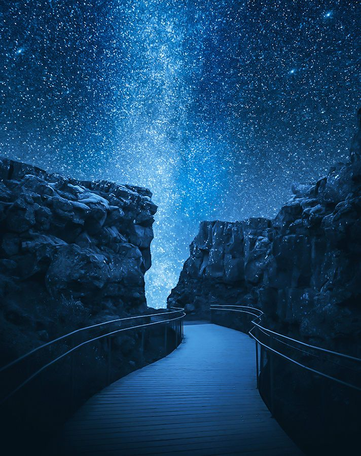 A pathway to the stars by Fredrik Strømme on 500px