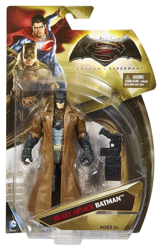 Batman vs Superman Dawn of Justice Mega Blast Batman Action Figure #Mattel