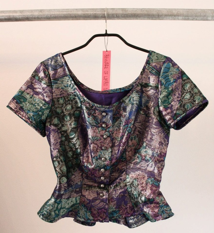 Vintage top  Available in Beware of Limbo Dancers
