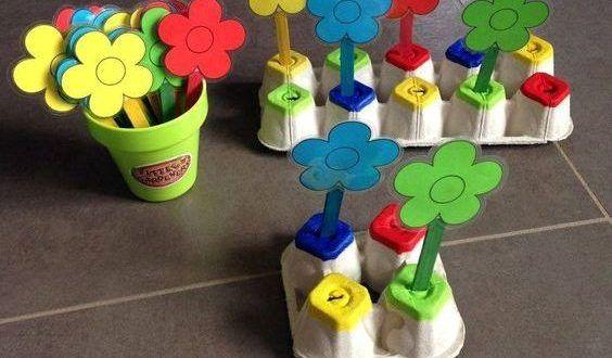 Okul Oncesi Yumurta Kolisi Ile Renkleri Ogrenme Egitici Oyuncagi