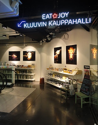 Eat food market @ Kluuvi shopping centre, Aleksanterinkatu, Helsinki