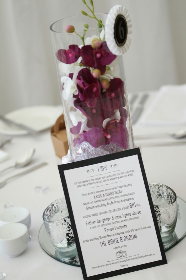 Real Wedding: Centerpieces - Olive Rose Weddings & Events