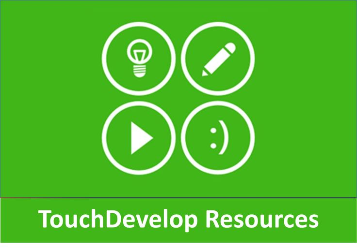 Series of one off lessons (mapped to the new Computing curriculum in England) designed to introduce students to programming using TouchDevelop.