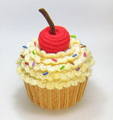 Amigurumi Cupcake Plush  Little Big Projects