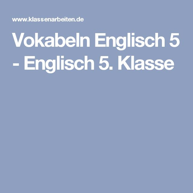 Best 20 Englisch Vokabeln Ideas On Pinterest