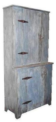 Blind front primitive cupboard by The Maine Pie Safe Company