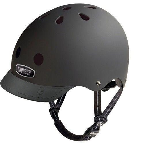 Check out this cool black helmet.  So stylin'!!