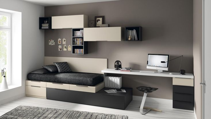Bedroom Ideas For Small Rooms For Teens Boys Study Areas