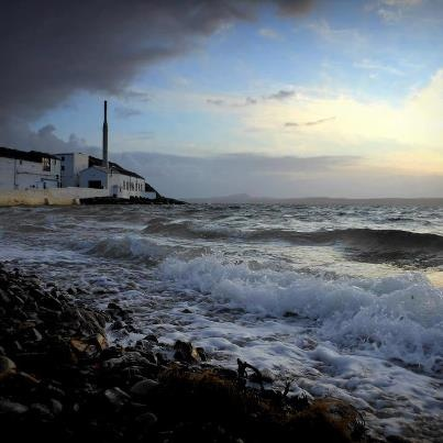 hmmm, the smell of whisky in the salted sea air ... Bowmore, Isle of Islay