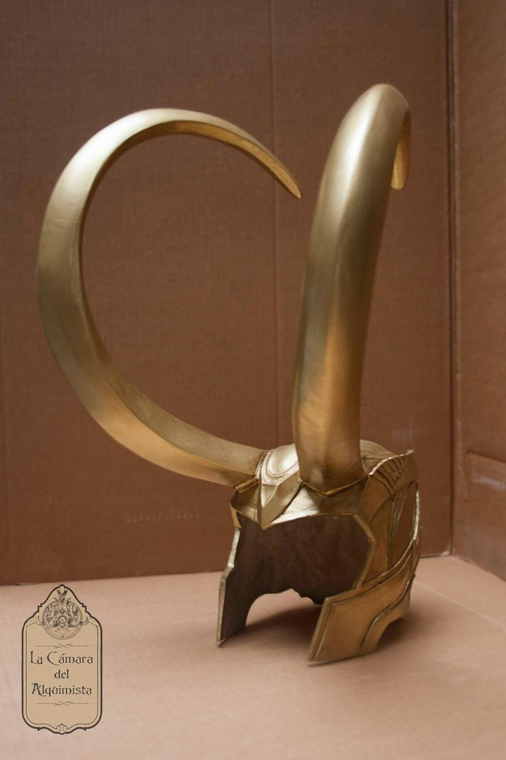 Loki helmet (Marvel: The Averngers version) for cosplay, uretane cast.  Work in progress pics:  https://www.facebook.com/LaCamaraDelAlquimista