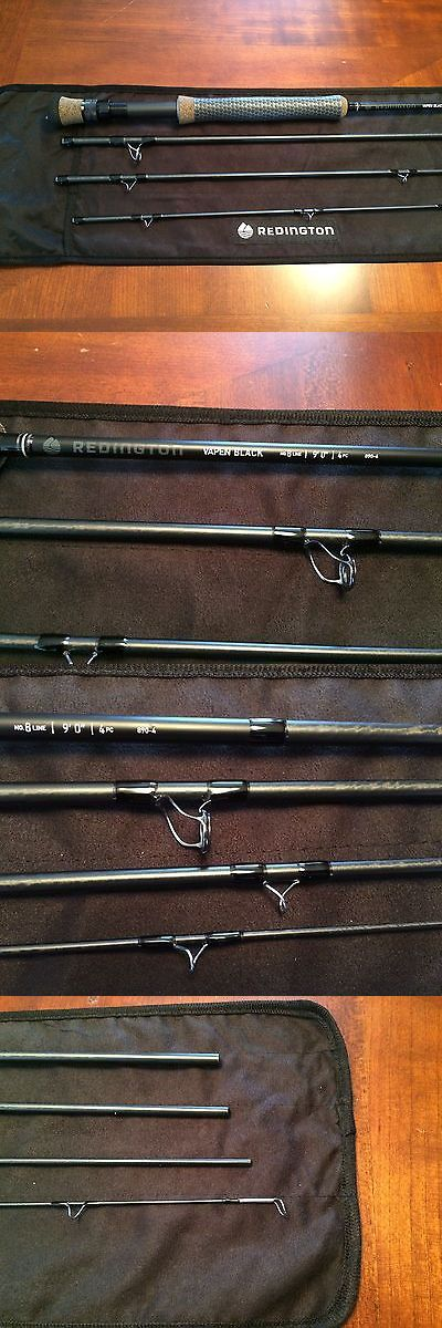 Fly Fishing Rods 23819: New Redington Vapen Black 9 8 Weight 4Pc Fly Rod, Power Grip Handle BUY IT NOW ONLY: $335.95