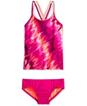 Nike 2-Pc. Splash Spiderback Tankini Swimsuit, Big Girls (7-16) -