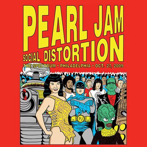 La historia de Pearl Jam en 70 afiches. - La octava maravilla