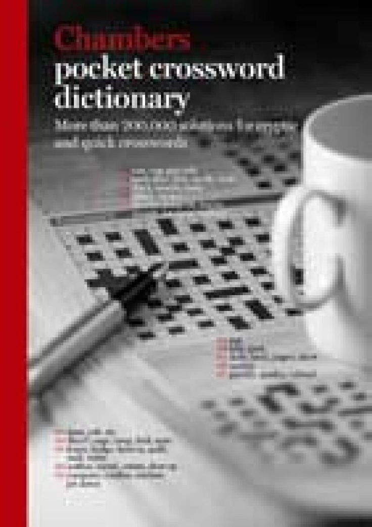 Chambers Pocket Crossword Dictionary #crossword #dictionary #crossworddictionary #onlinecrossword #onlineshop