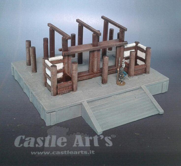 Ingresso principale pavimento e strutture portanti