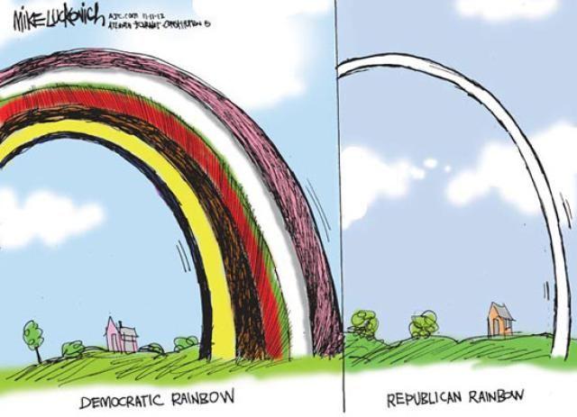Political Cartoons of the Week: Rainbow