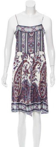 Isabel Marant Shift Paisley Dress