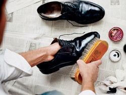 How to choose and taking care of shoes for men. (Photo: Ditte Isager)