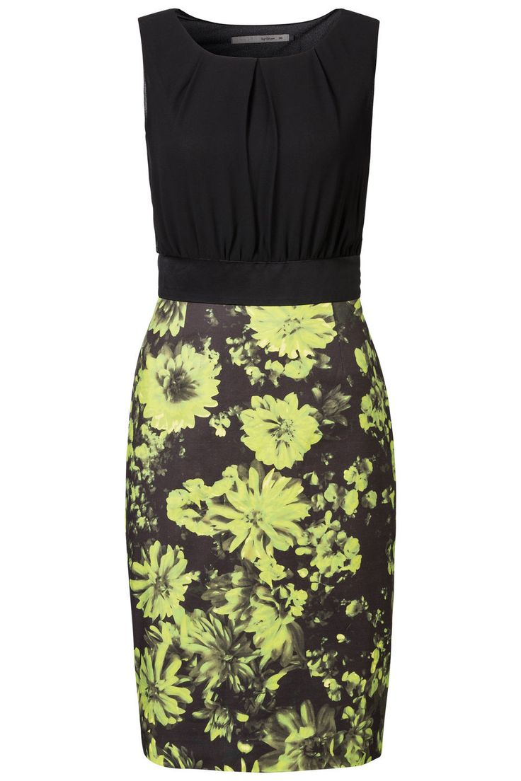 Getailleerde jurk met bloemenrok bij Steps® Officiële Webshop | Steps.nl