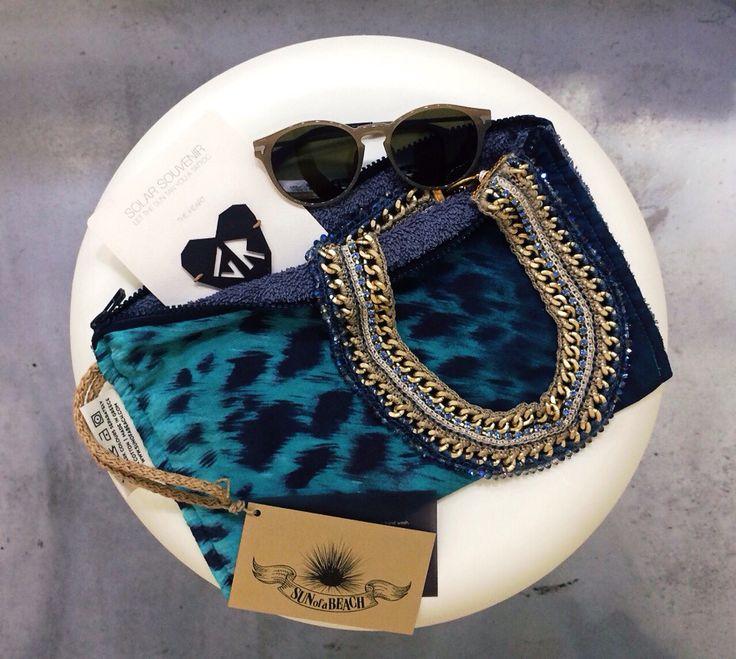 Happy together  new  @sunofabeachtowels Feline Love Aqua purse 100% cotton, @mylifelikes.gr Turbulance handmade necklace, Costas Bissas Solar Souvenir tan tattoo  @my_greek_me #Rhodes #oldtown #Greece #madeingreece #handmade #handmadejewelry #greekdesigners #purse #neclace #solar #tattoo #greek #shop #shopping #happytogether
