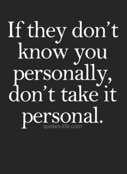 True...  Who knows you? Only you do and that's only some of the time.   Note to self.. #bettertalktosoc