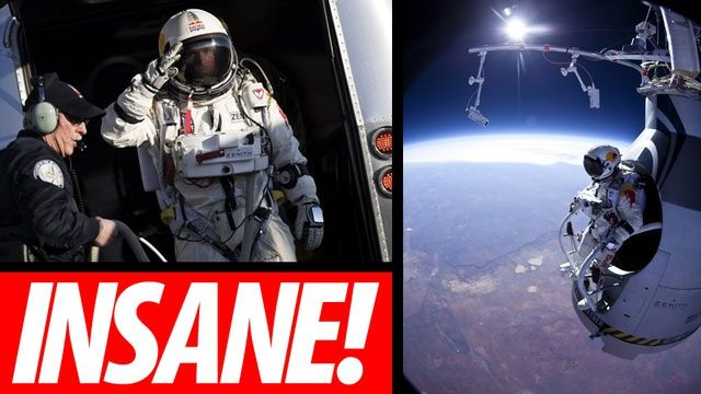 Free fall from space