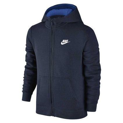 Nike Boy's Sportswear Club Hoodie - rebel
