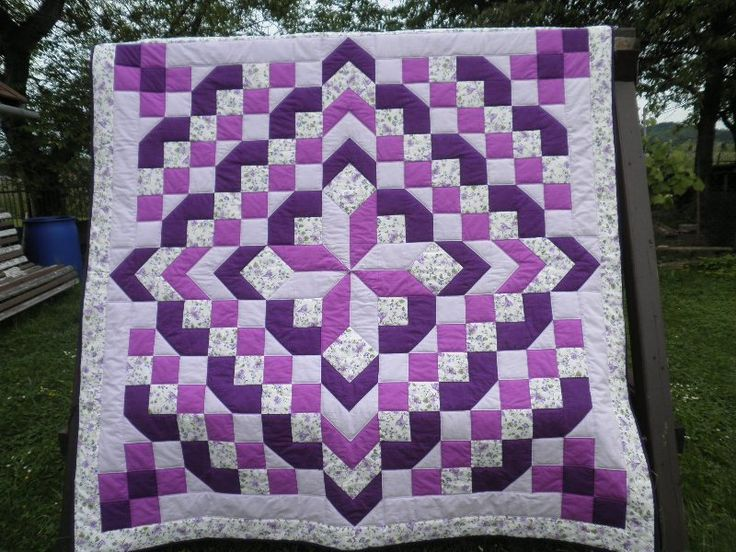 quilt purple quilter labyrinth s american kit walk society