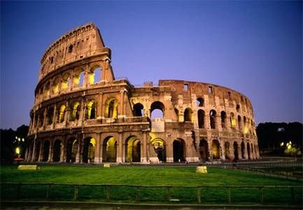 7. Colosseum- stopped being used for entertainment in the early medieval era   fact from~ http://en.wikipedia.org/wiki/Colosseum