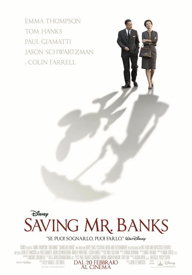 I segreti di Walt Disney: http://www.oggialcinema.net/?s=saving+mr+banks Saving Mr Banks è un altro film che non può mancare, nell'album!