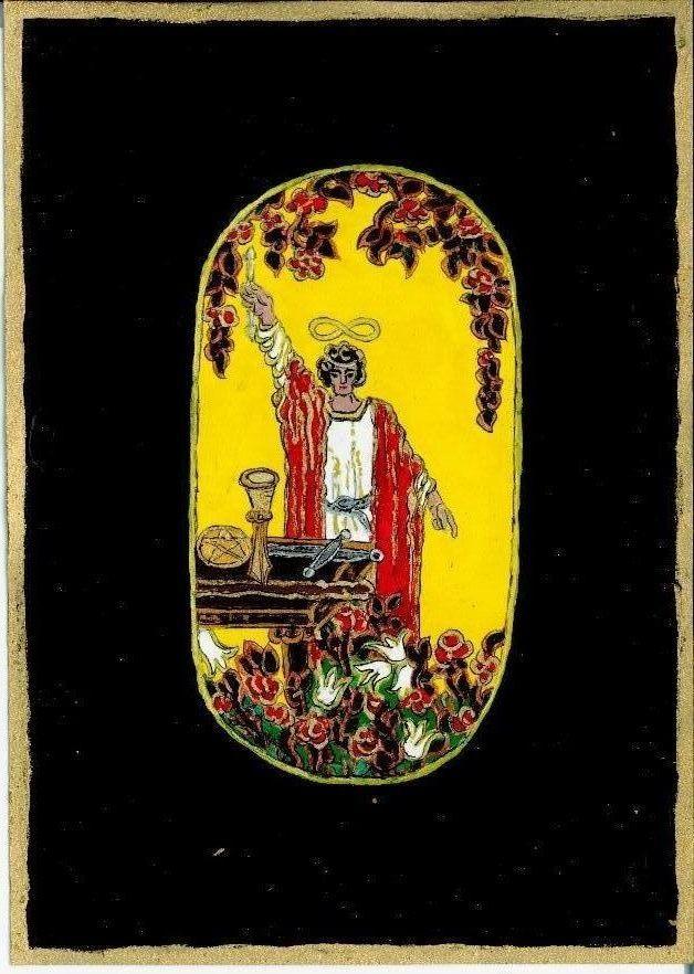 A Magus, 2012 ősz. A Nagy Arkánum lapja 2012 tavaszi álmaimban ebben a változatban bukkant fel